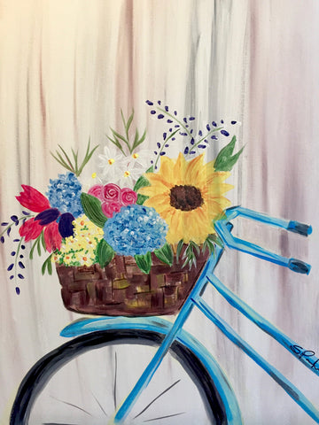 "Symposium Cafe Guelph - Painting  Night ""Fleurs Du Marche' - May 1st, 2018 (7-9pm)  304 Stone Rd W, Guelph"