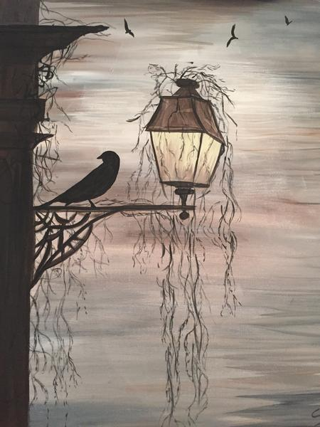 "Kelsey's Georgetown Painting Night - Oct 2nd, 2018 (7-9pm) ""Raven's Night"" 256 Guelph St, Georgetown"