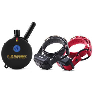 "K9-802 2 DOG K9 HANDLER ON 33"" BUNGEE COLLARS 