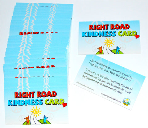 RIGHT ROAD KINDNESS CARDS