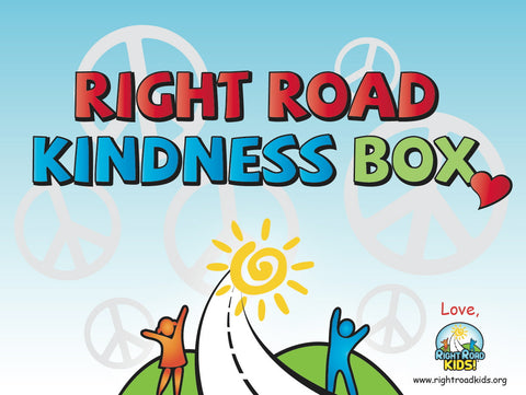 Right Road Kindness Box Stickers