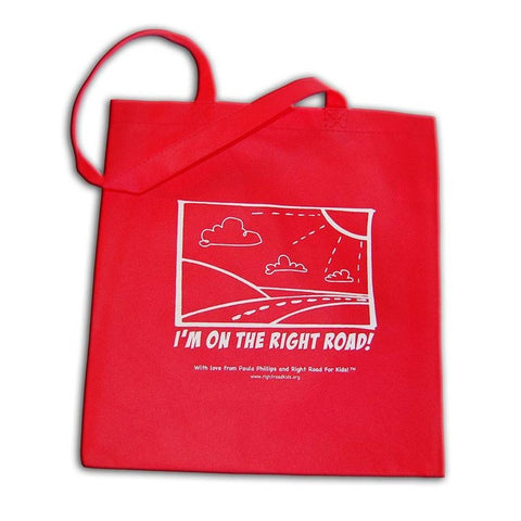Right Road Book Tote Bag