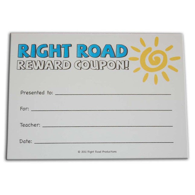 Right Road Reward Coupons