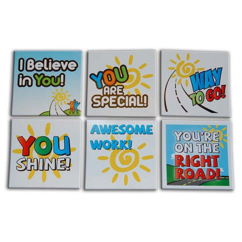 Right Road Teacher Stickers
