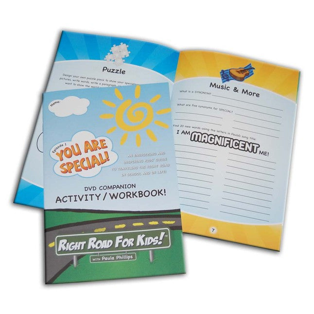 Right Road For Kids! Episode 1 Companion Activity/Workbook