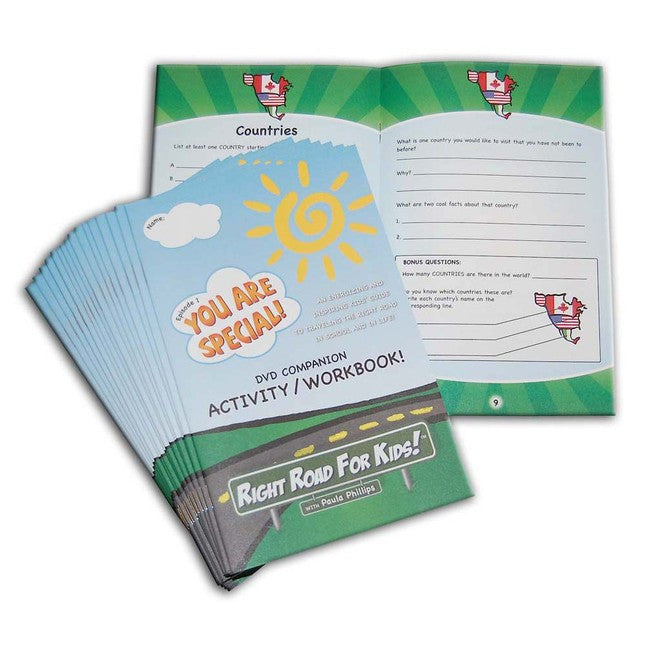 Right Road For Kids! Episode 1 Companion Activity/Workbook CLASS PACKS