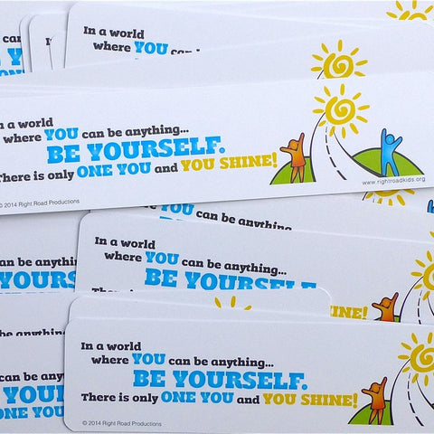 You Shine! Bookmarks