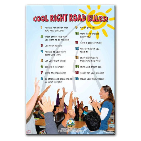"""Cool Right Road Rules!"" Poster"