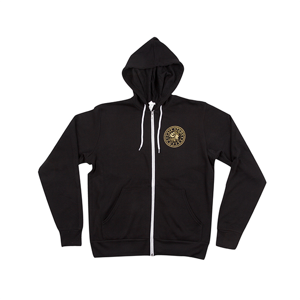 Circle Logo Zip-up Hoodie