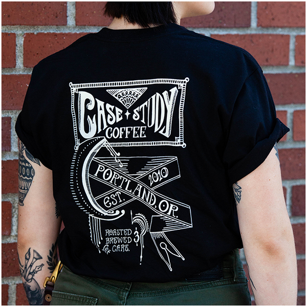 Black Sanborn Logo Shirt