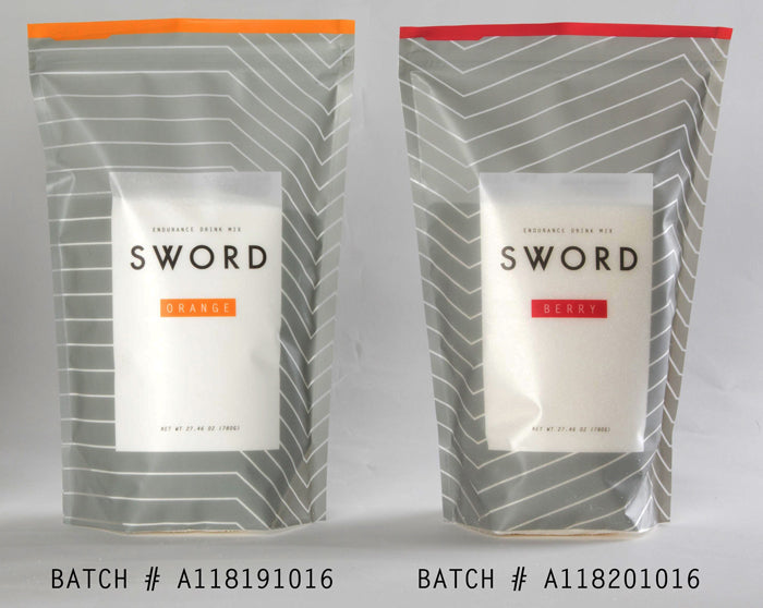 SWORD Endurance Drink Mix - Certified Clean