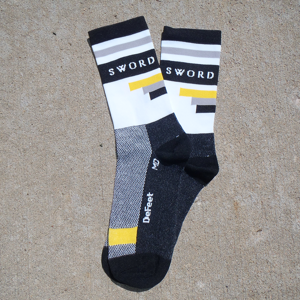 Power Stripe Socks - High