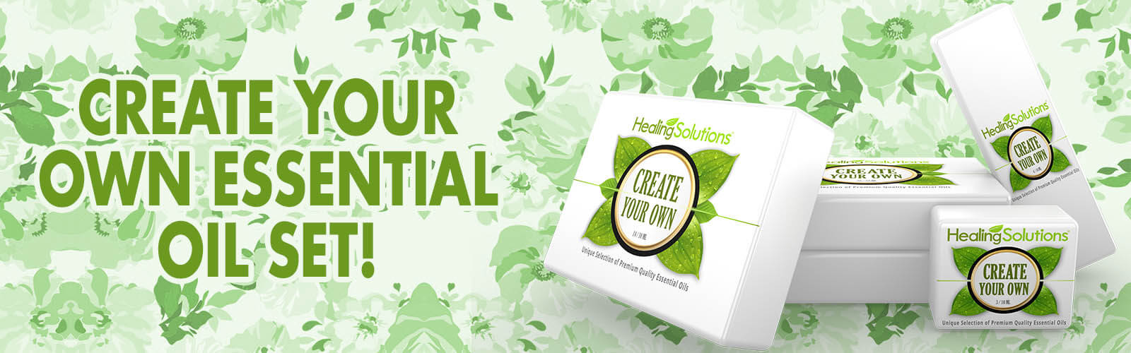 Create your own essntial oil set