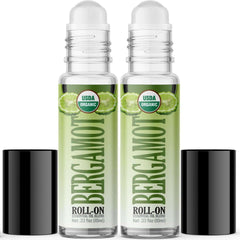 Organic Bergamot Essential Oil Roll On (2 PACK)-Healing Solutions | Essential Oils