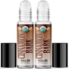 Organic Cinnamon Bark Essential Oil Roll On (2 PACK)-Healing Solutions | Essential Oils