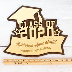 Class of 2020 Sign - Custom Graduation Sign - Graduation Plaque