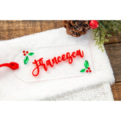 Personalized Acrylic Stocking Tags