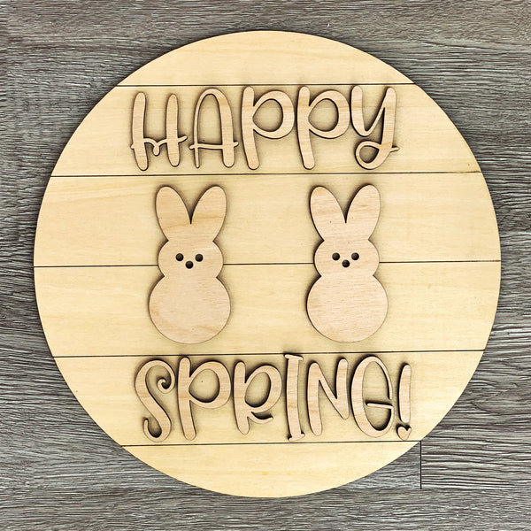 Happy Spring Bunnies DIY Sign Paint Kit