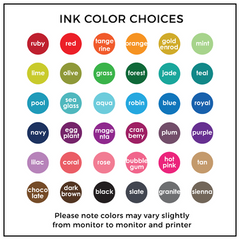 tagged with love ink color choice