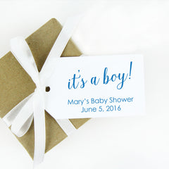 its a boy baby shower favor tag baby shower tags
