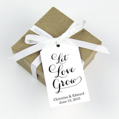 let love grow favor tag