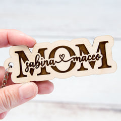 Mom Keychain - Mother's Day Gift - Personalized Keychain