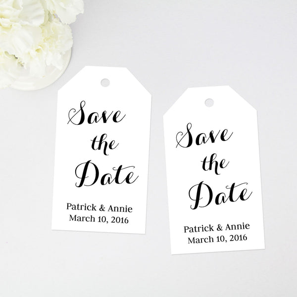 Save the Date Tag - 40 Pieces
