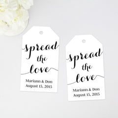 spread the love favor tag