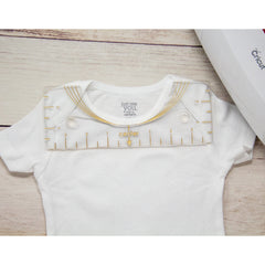 Infant Bodysuit Alignment Tool - Baby Shirt Alignment Ruler
