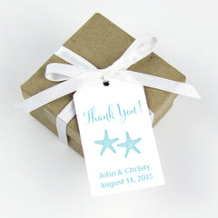 starfish thank you tags