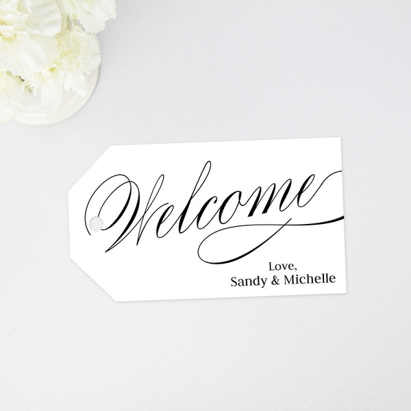 Welcome Tag - 40 Pieces