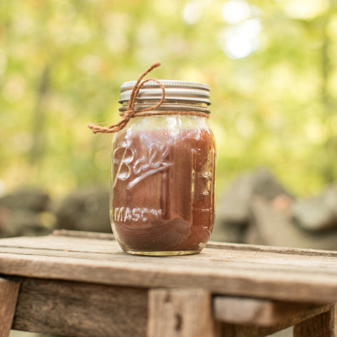 Coffee Scented Mason Jar Candle - Still Water Candles - 1
