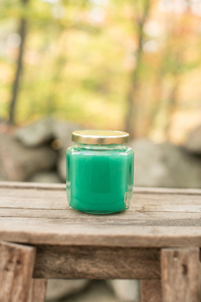 Eucalyptus Spearmint Scented Jar Candle - Still Water Candles - 3