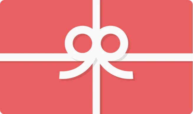 Gift cards for socks and underwear