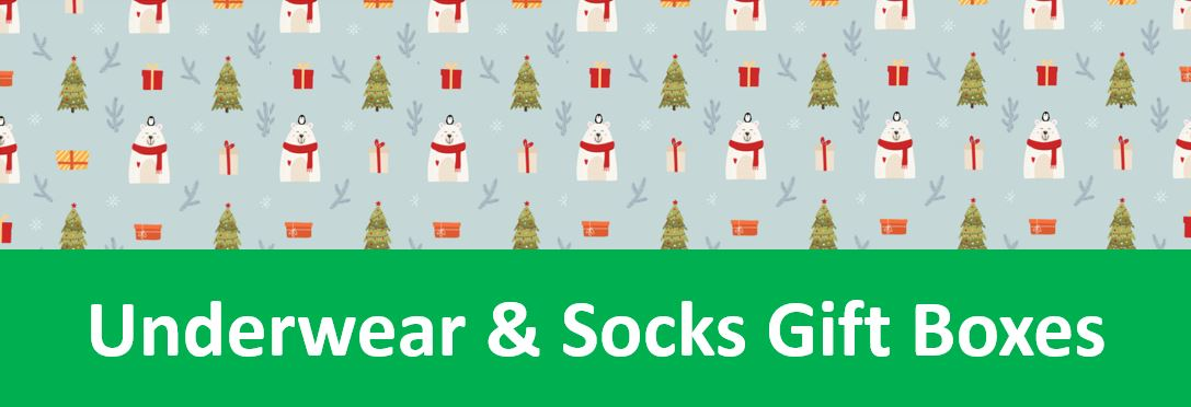 Underwear and Socks Gift Boxes