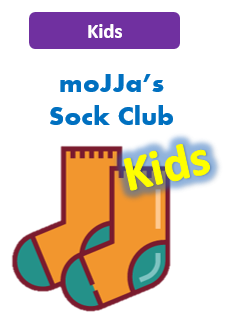 Kids Sock Club | Funky socks delivered to your mailbox