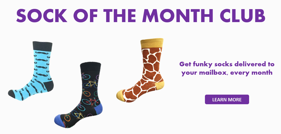 Sock of the Month Club | Socks by Subscription from Canada online sock store