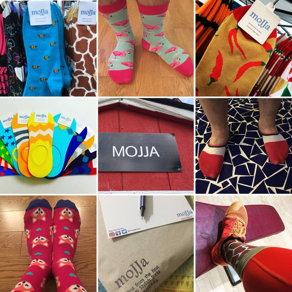moJJa funky socks and underwear from Canada online store