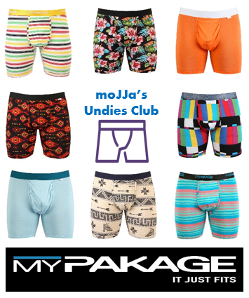 Underwear of the Month | MyPakage Boxer Briefs