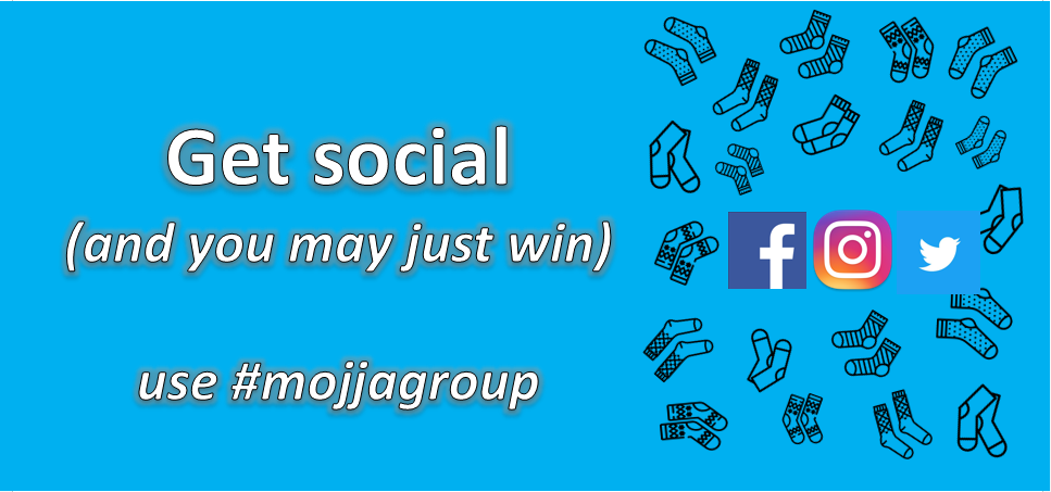 Win socks by going social - sock club Canada