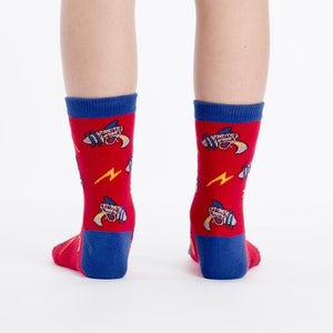 Rayguns children crew socks