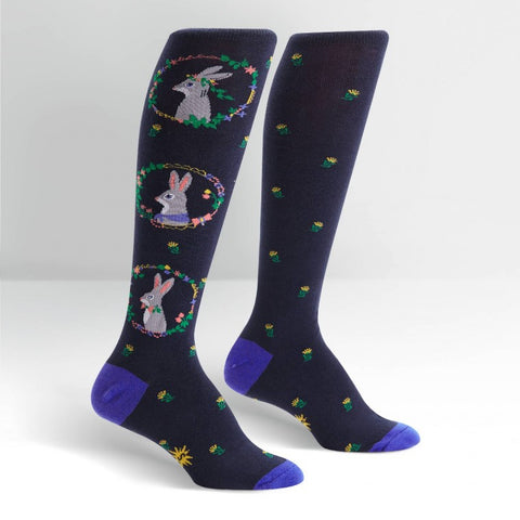 AUTUMN HARE KNEE HIGH SOCKS