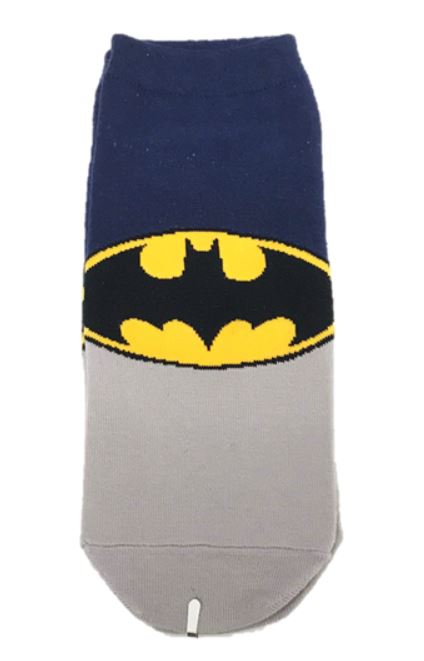 Batman symbol ankle socks