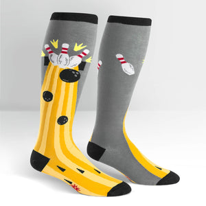 Bowling knee high socks