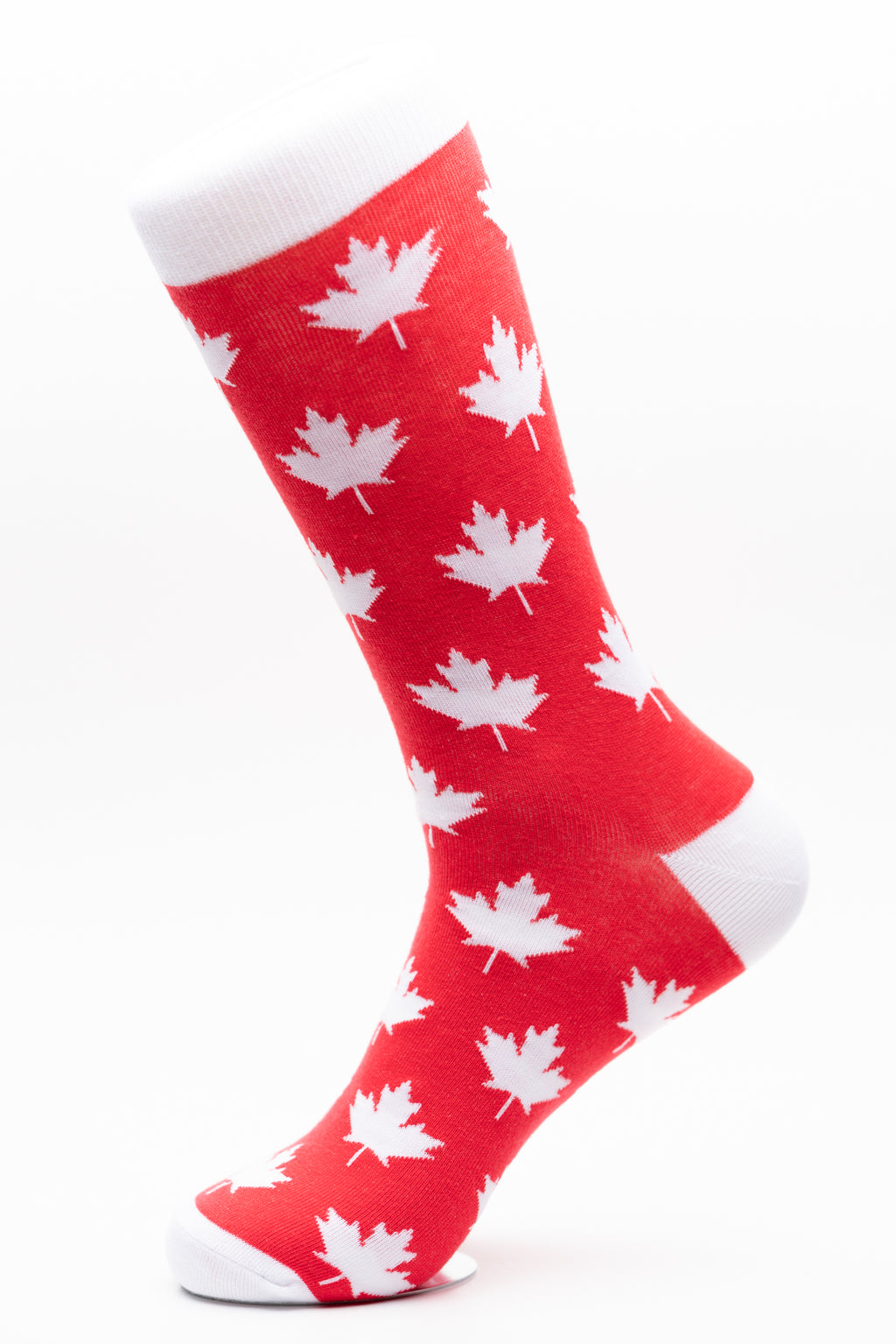 Canada Maple Leaf Crew Socks