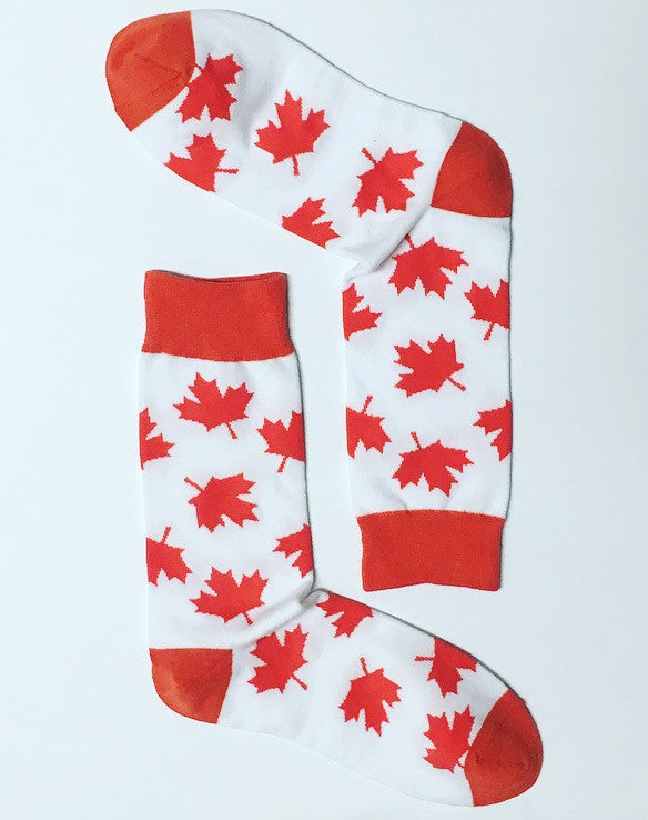 Canada Day Socks | Sock of the Month Club