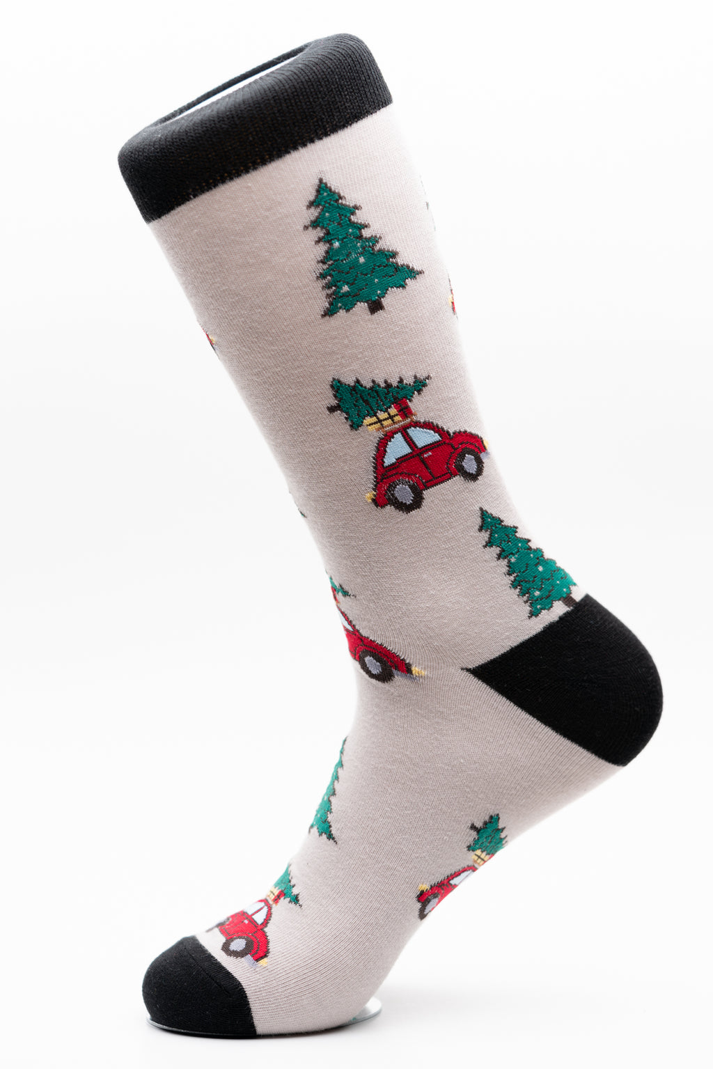 Christmas Beetle Tree Car Fun Socks