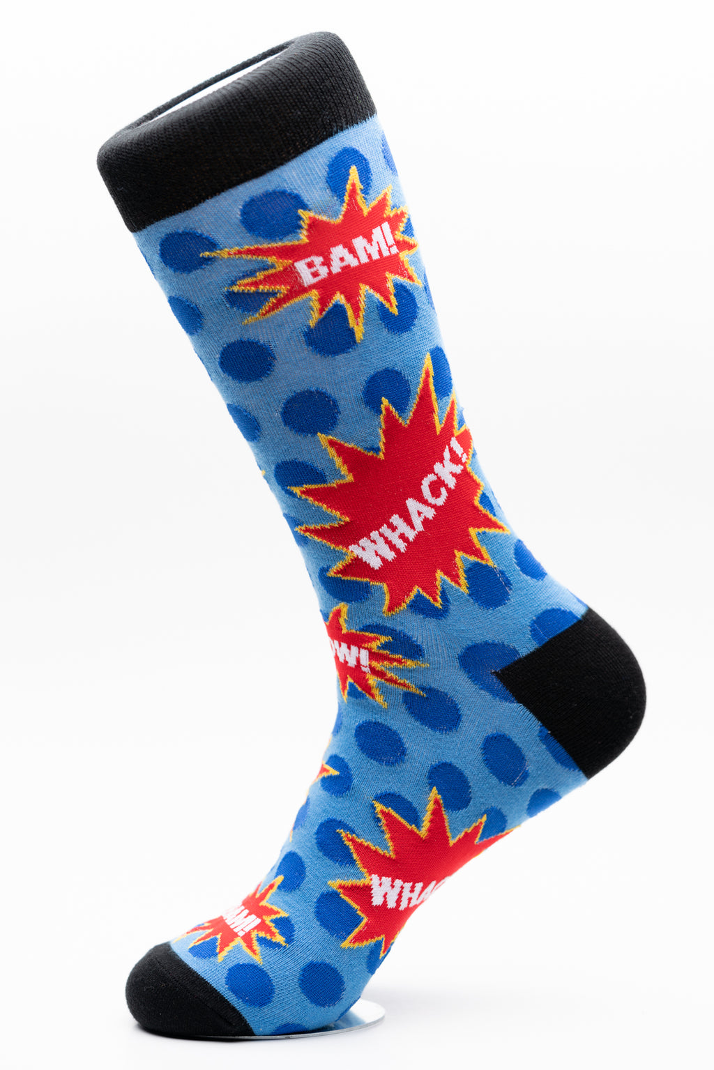 Comic Book Fun Crew Socks