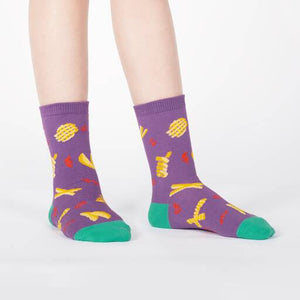 Fries socks for children