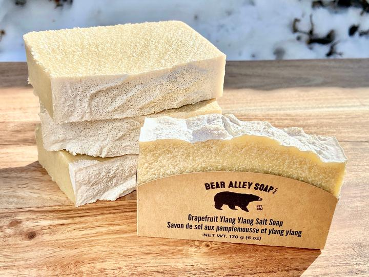 Grapefruit Ylang Ylang Salt Soap